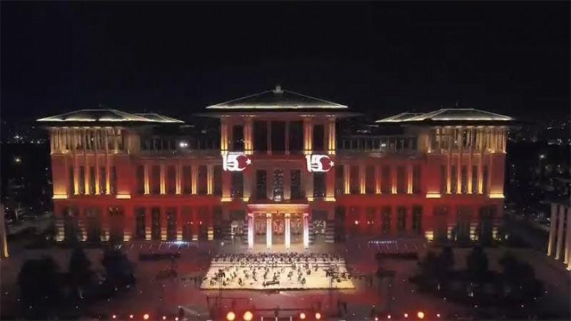 '15 Temmuz Destanı' Külliye'de seslendirildi