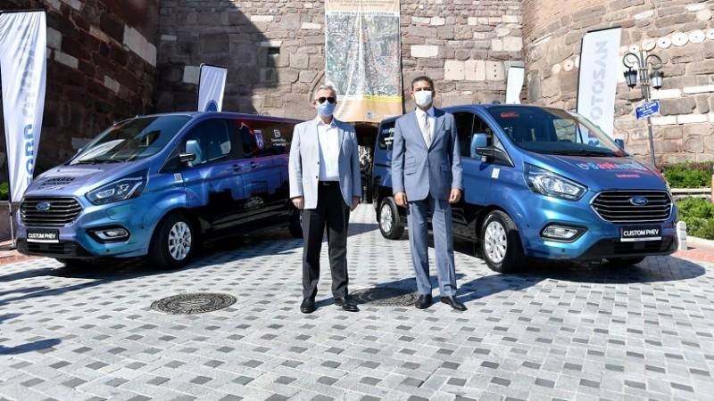 ABB Başkanı Mansur Yavaş'tan 'yerli hibrit teknoloji' atağı