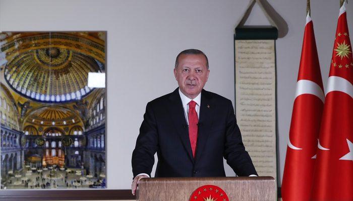 Cumhurbaşkanı Erdoğan'dan Millete Sesleniş