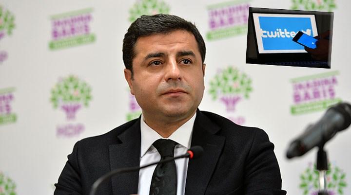 Demirtaş'ı Twitter'dan takip etti, işten çıkarıldı!