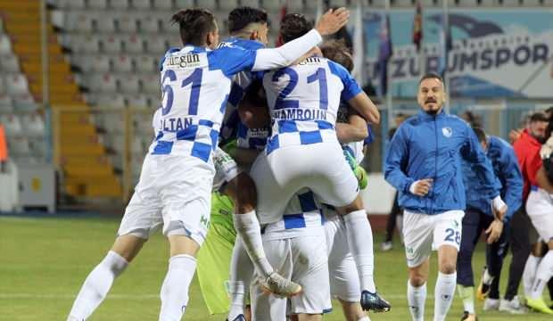 Erzurumspor, Süper Lig yolunda!