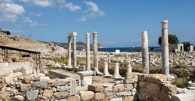 Knidos Antik Kenti Aslına Dönüyor