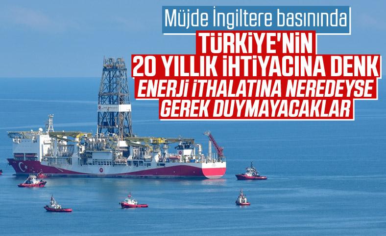 İngiliz medyasında Türkiye'nin doğalgaz keşfi: Tarihi bir adım