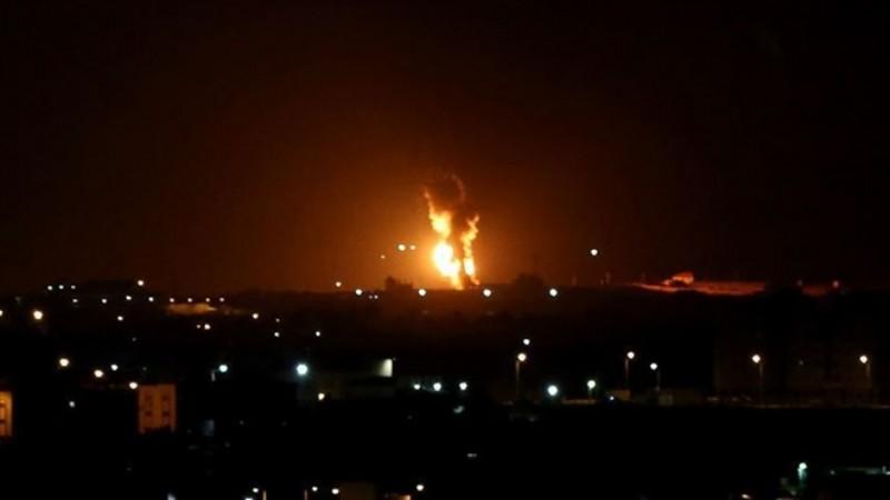 İsrail, Gazze'de Hamas hadeflerini vurdu