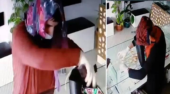 Kadın kılığındaki soyguncular iş yeri sahibini ağır yaraladı