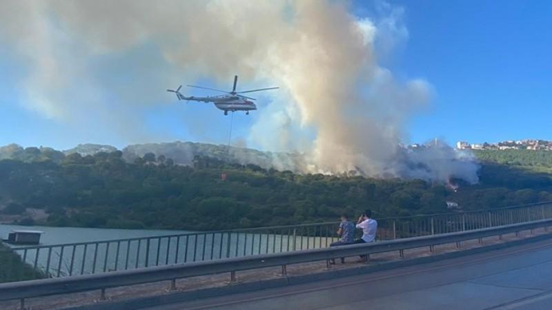 Maltepe'de orman yangını: Zanlı DHKP-C üyesi çıktı