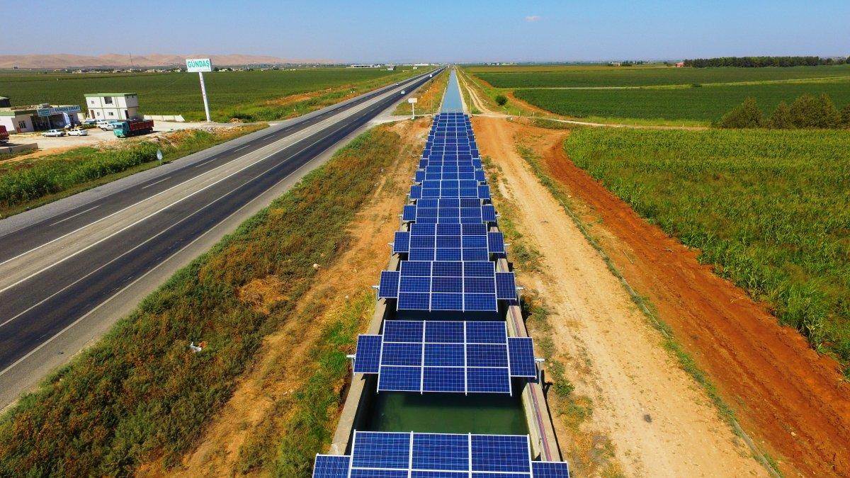 Şanlıurfa'da güneş elektriğe dönüşüyor
