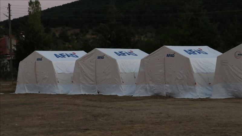 AFAD, Polatlı'daki tarım işçilerine çadır dağıtacak.