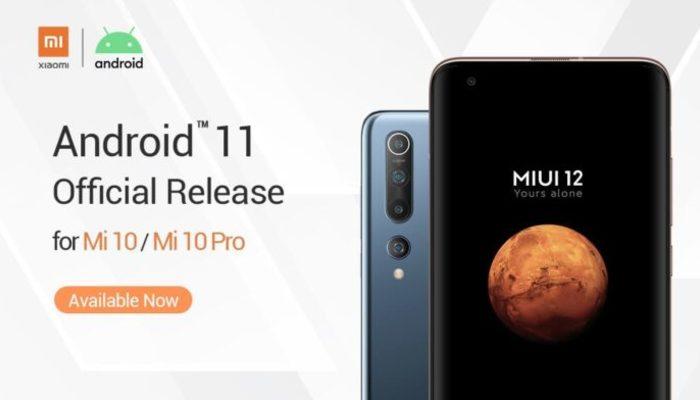 Android 11 ile Xiaomi Mi 10 ailesine eklenen özellikler