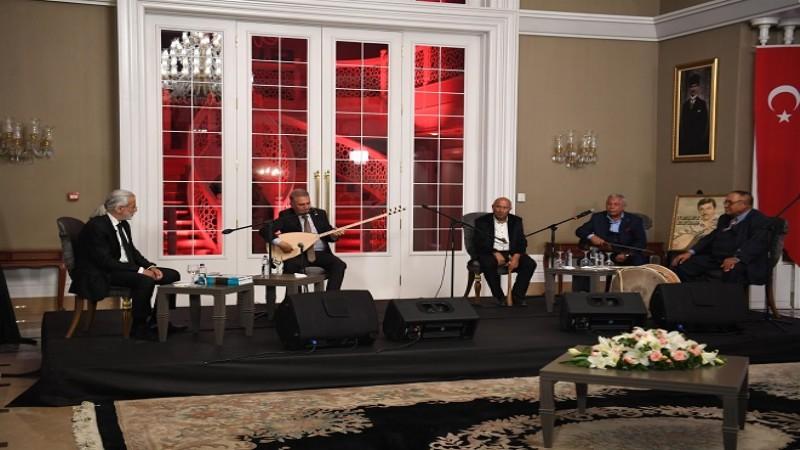 Başkentte Neşet Ertaş'a vefa konseri
