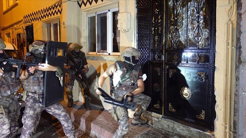 Bursa'da 1500 polisle 'şafak' operasyonu