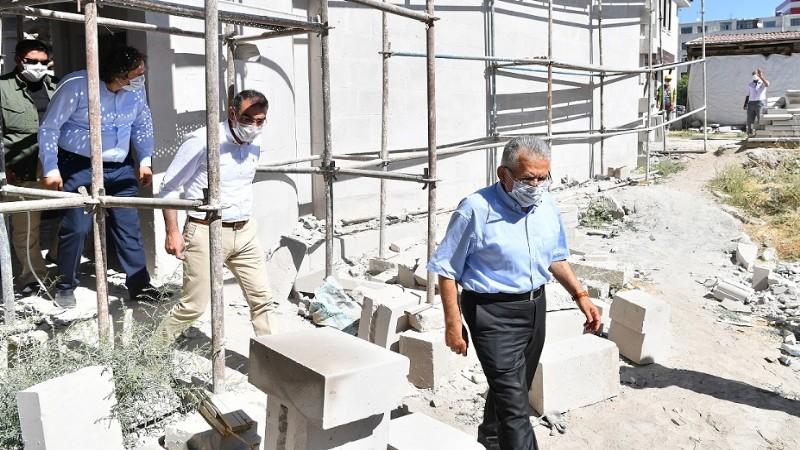 Büyükkılıç'tan 'restorasyon' kararlılığı
