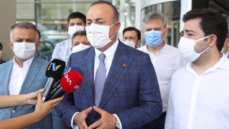 Çavuşoğlu'dan Muhittin Böcek'in sağlık durumuna ilişkin açıklama