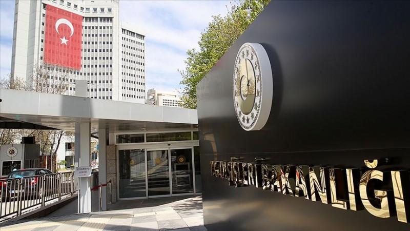 Dışişleri Bakanlığı: Türkiye ön koşulsuz diyaloğa hazırdır