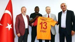 Etebo: Büyük ve tarihi bir kulübe geldiğim için çok mutluyum