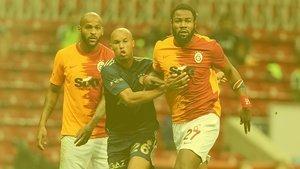 Galatasaray - Fenerbahçe derbisinde tartışmalı pozisyonlar