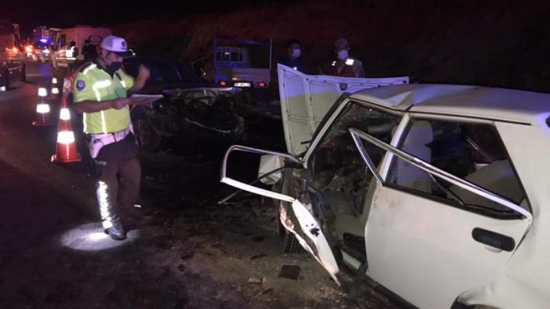 Gaziantep'te zincirleme trafik kazası: 4 ölü, 7 yaralı