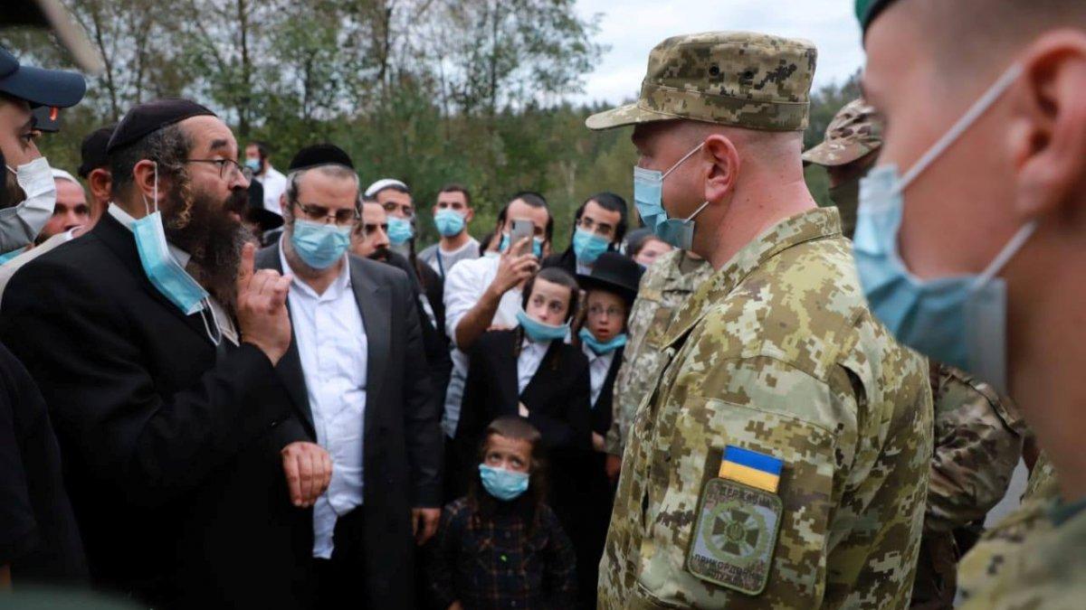 Hacca gitmek isteyen Yahudiler Ukrayna sınırına dayandı
