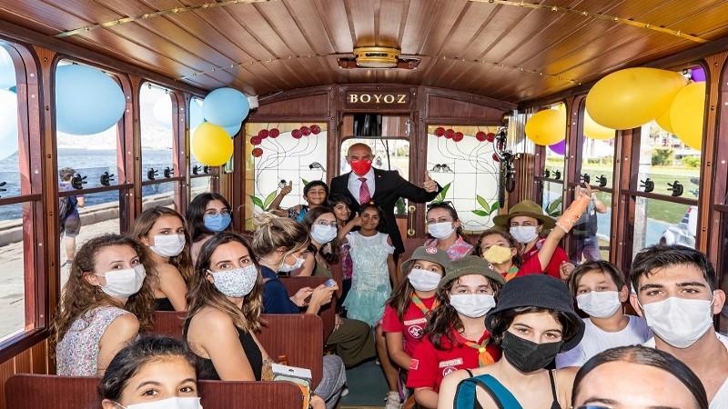 Hoş geldin 'Nostaljik tramvay'