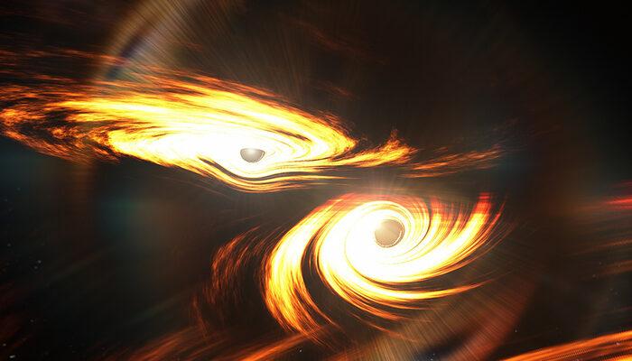 Kara delik birleşmesinin sinyalleri 7 milyar yıl sonra Dünya'ya ulaştı