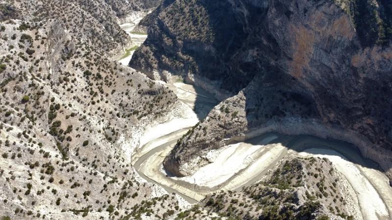 Mevsim sıcaklıkları İnceğiz Kanyonu kuruttu