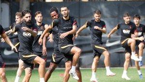 """Nazım Sangare: """"Galatasaray maçı hemen başlasın istiyorum"""""""