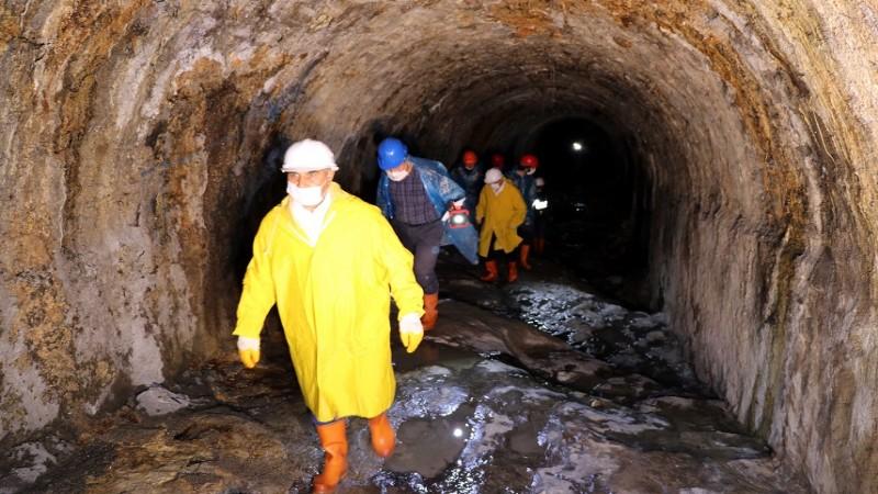 Safranbolu'nun 4 asırlık tünelleri turizme kazandırılacak