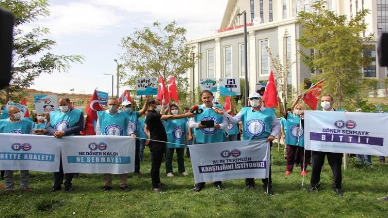 Sağlık çalışanları döner sermayede adalet istiyor