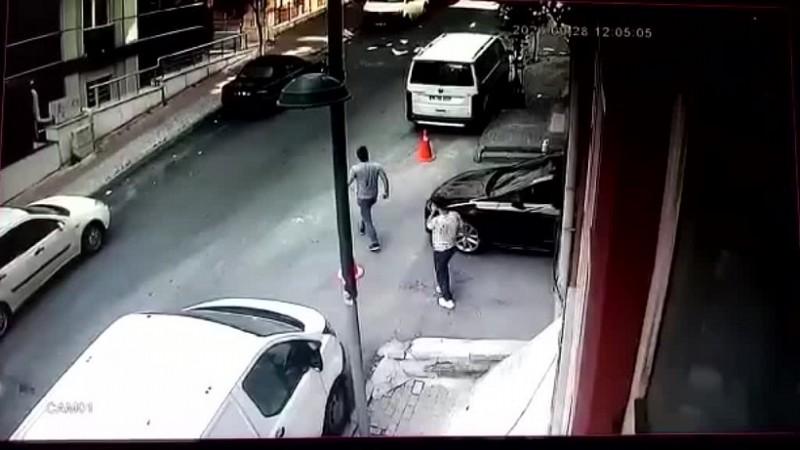 Şişli'de iş yerinde patlama