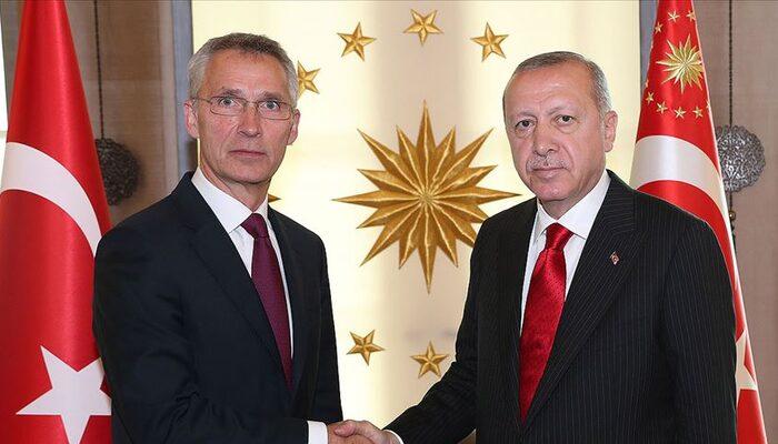 Son dakika: Cumhurbaşkanı Erdoğan, NATO Genel Sekreteri Stoltenberg ile görüştü