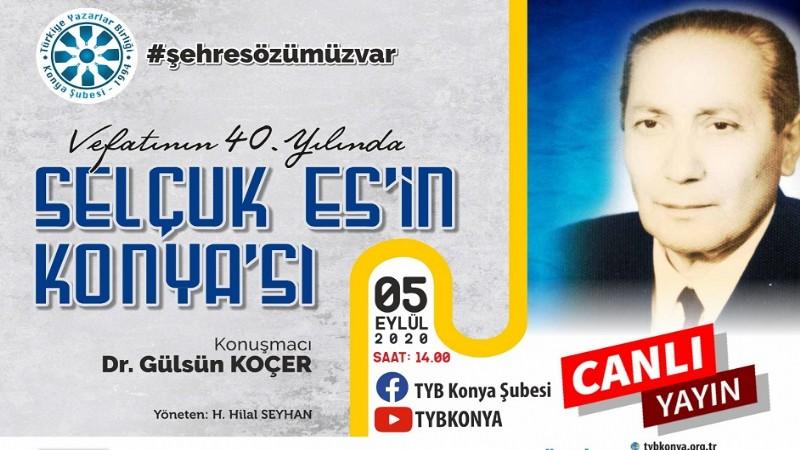 TYB'de Selçuk Es'in Konya'sı konuşuldu