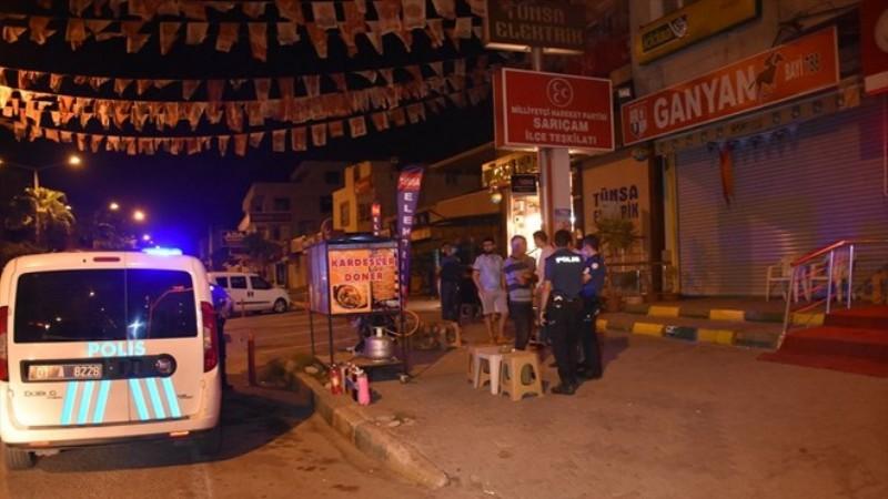 Adana'da arkadaşı tarafından vurulan kişi ağır yaralandı