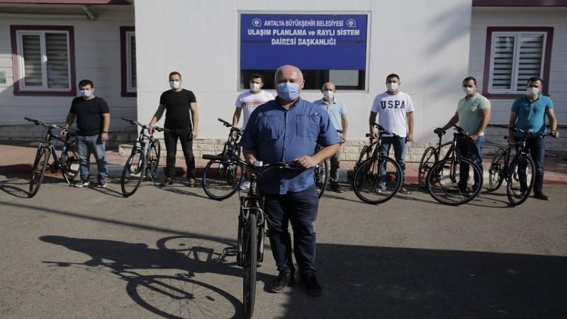 Antalya Büyükşehir bisiklet birimi kuruyor