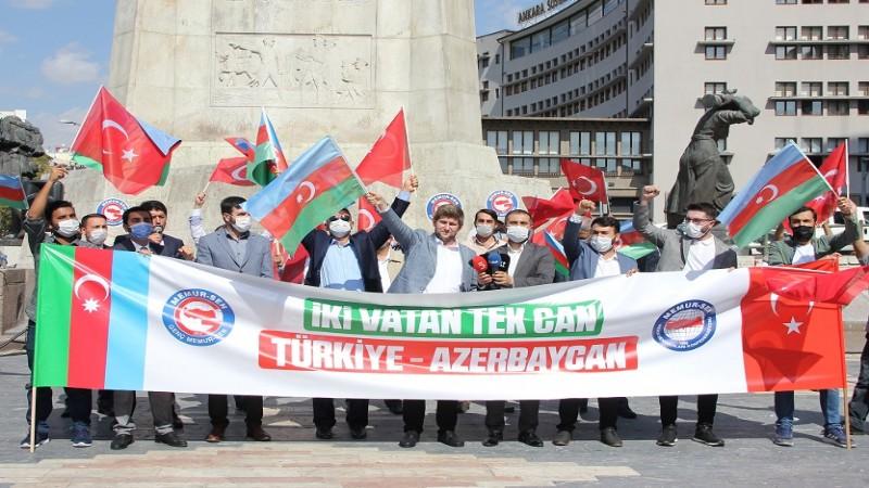 'Azerbaycan'ın yanında olmak boynumuzun borcudur'